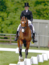 wow-ridden by antonia brown at brigstock horse trials